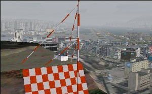 Kai Tak and the Checkerboard Approach, FSX