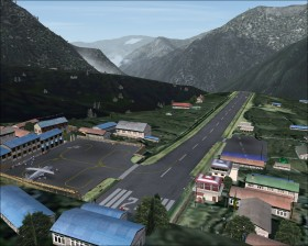 Mount Everest, FSX