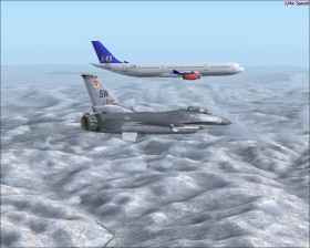Supersonic flight, FSX